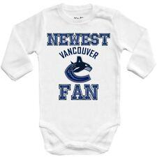 Baby bodysuit Newest fan Vancouver Canucks, NHL,UNISEX One Piece jersey