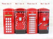 England Phone Box Telephone Booth Kiosk Mail Pillar Coin Money Saving Piggy Bank