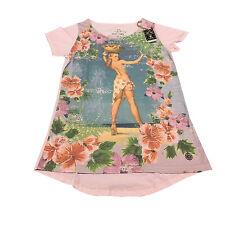 TAKE TWO t-shirt donna rosa over ALOHA 52% poliestere 48% cotone