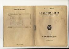 Le Lancer Leger. Sa Pratique En Toutes Saisons