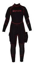 HOLLIS - SD7.1 FLEX Semi Dry Tauchanzug Herren, 2 Taschen, T-Zip, Kopfhaube