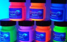 Fluorescent UV Blacklight Paint 250ml - Choose colour