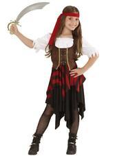 Costume Carnevale Piratessa Travestimento Bambina Pirata PS 05429