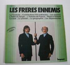 Les FRERES ENNEMIS (Vinyle 33t / LP) La tombola, Contributions très indirectes