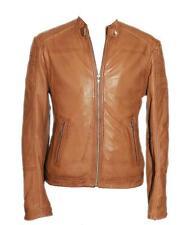 RAYMAN Tan Mens Lambskin Fashion Jacket