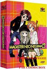 Coffret 2 DVD manga SHIN NEGIMA n° 1 + 2 magister neo épisodes 1 à 9 clamp NEUF