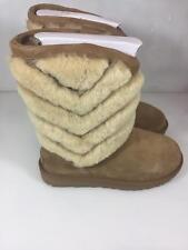 NIB UGG Australia Women's TANIA Chevron Boots Chestnut 1012393