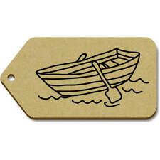 'Bateau à Rames' etiquettes de bagage / cadeau (vTG0018461)