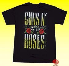 New Guns N Roses Bullet Classic Vintage Retro T-shirt