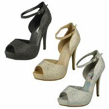 Ladies Anne Michelle Platform Heel 'Sandals'