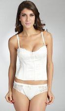 E et D White 0012 balconette corset set  12 14 16 B C D