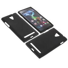 Tasche für MEDION Life P4502 Smartphone Handytasche Schutzhülle TPU Gummi Case