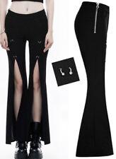Pantalon fendu patte d'eph gothique punk lolita piercing évasé fashion Punkrave