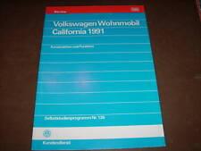 SSP 136 Selbststudienprogramm VW Bus T4 Wohnmobil California 1991