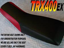 TRX400EX seat cover for Honda TRX 400 EX TRX400 Black with Red sides 283C