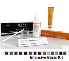 Professional Intensive Eyelash & Eyebrow Dye Tint Basic Tinting Kit 14 Colours