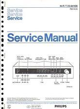 Philips original service manual pour t 22 Ah 106