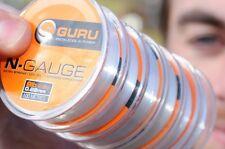 Korda Guru N-Gauge Ligne de pêche-extra fort, tous les Briser souches disponible