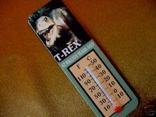 (DF-40) tyranosaurus T rex dinosaur thermometer magnet I love dinos dinosaurs