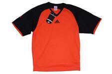Adidas Herren Football Soccer Climalite T-Shirt Orange Gr. XS - S