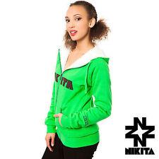 Nikita Rider Snowboard Sherpa Full Zip Hoodie M Green NEW NWT $90 £70 €90 Skate
