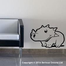 Dinosaurios Adhesivos de pared niño infantil cuarto del bebé mural para Frase