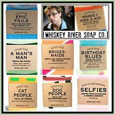 Whisky Rivière Compagnie de Savon Cadeau Unique ! Drôle ! Fabriqué aux