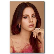 K2767 Lana Del Rey Art Fabric 21x14 40x27 inch Poster
