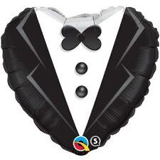 marié Smoking Cœur 45.7cm Ballon aluminium pour fête Marriage amour Qualatex