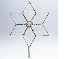 The Christmas Star Hallmark NEU 2011 Tree Topper Glas/Metall kostenlose USA Versand