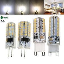G4 G9 Silicone Crystal LED Corn Bulb 3W 5W 6W 10W SMD Light Lamp 12V 110V 220V
