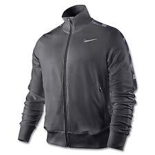 Nike Men's  Rafa Tennis Charcoal Dri-Fit Zip-Up Long Sleeve Jacket 458964 M-2XL