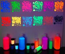 8oz Bottle UV Blacklight Reactive ACRYLIC Paint