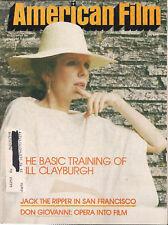 AMERICAN FILM Magazine April 1979 Jack the Ripper film