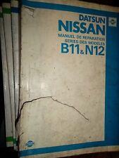 Nissan SUNNY B11 N12 Datsun 1983.... : MANUEL D'ATELIER
