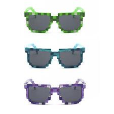 Pixel Pixeln Geek Gangster Leben Sonnenbrille! Retro achtziger Kostüm Cosplay Comic