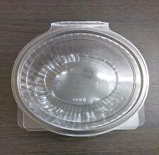CONTENITORE in plastica a cerniera Punnet OVALE 1000cc 1000 ML IMPERMEABILE Cibo Frutta Insalata