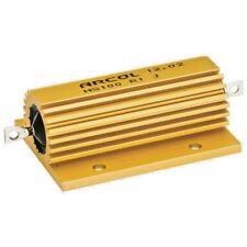 Resistor de alimentación de 100 vatios (Aluminio Revestido) 5% (lista desplegable para los valores óhmica)