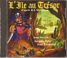 537 // L'ILE AU TRESOR JEAN SERVAIS,JEAN ROCHEFORT CD NEUF