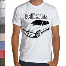 Renault Clio RS Williams 16S Premium Soft Cotton T-Shirt Multi Color S-3XL WRC