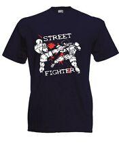 Herren T-Shirt Streetfigther Größe bis 5XL