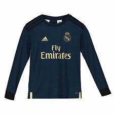 Real Madrid Away Shirt 2019 - 20 - Kids - Long Sleeve