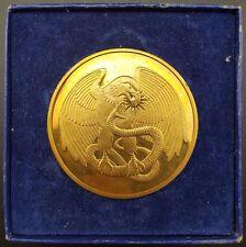 DE BEERS 25th Diamond Research Conference médaillon, 1975, bronze, choix de 2
