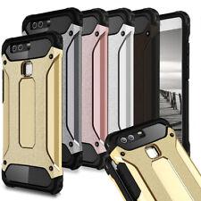 Handy Schutz Hülle für Huawei Hybrid Tasche Stoßfest 360 Full Cover Case Rugged