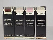 Ultima II Wonderwear Longwearing CREAM SHADOW Eyeshadow Silky Shimmer .2 oz New