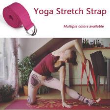 Yoga High Density Ribbon 2.5/3.2M Yoga Stretch Strap D-ring Belt Stretching Band