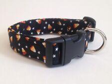 MINI CANDY CORN print Dog collar  (you choose the size)