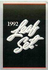 1992 LEAF MLB BASEBALL CARD PICK SINGLE CARD YOUR CHOICE LIST 2