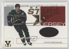 2001-02 In the Game Be A Player Signature Series #GJ-20 Mike Modano Dallas Stars