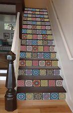 3D Flower 465 Stair Risers Decoration Photo Mural Vinyl Decal Wallpaper AU Lemon